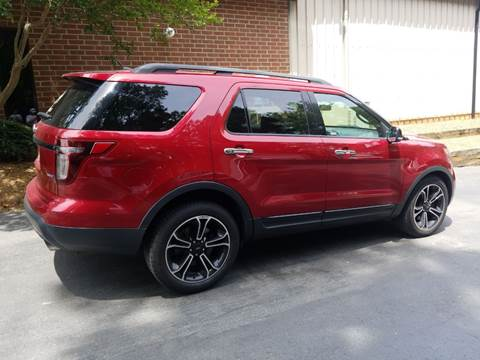 2013 Ford Explorer for sale at European Performance in Raleigh NC
