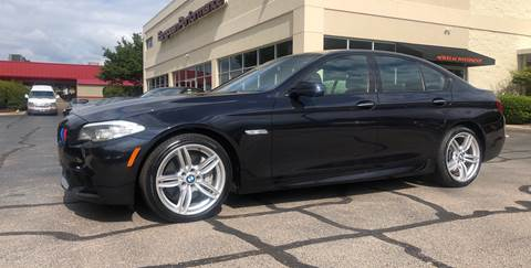 2013 BMW 5 Series 550i xDrive for sale at European Performance in Raleigh NC