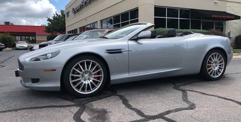 2008 Aston Martin DB9 Volante for sale at European Performance in Raleigh NC