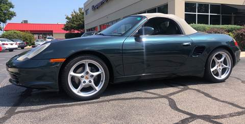 2003 Porsche Boxster for sale at European Performance in Raleigh NC