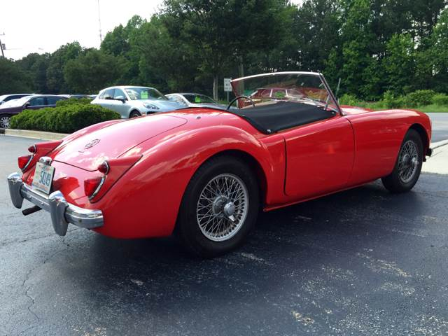 1960 MG MGA for sale at European Performance in Raleigh NC