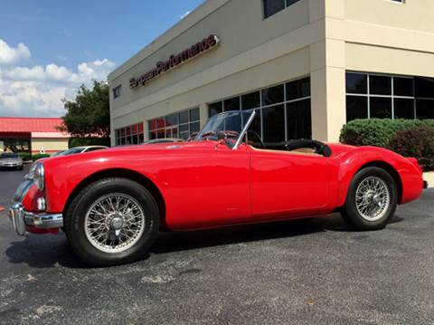 1960 MG MGA for sale in Raleigh, NC