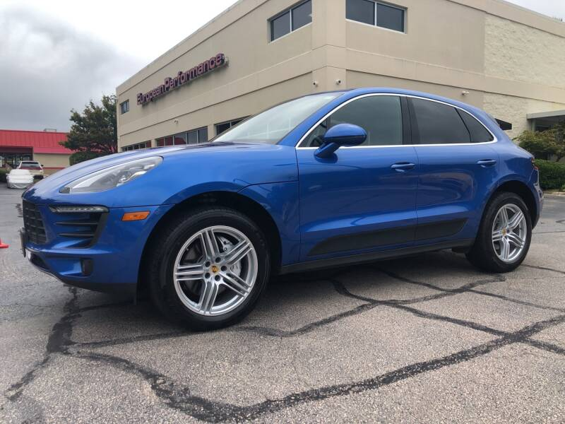 2017 Porsche Macan for sale at European Performance in Raleigh NC