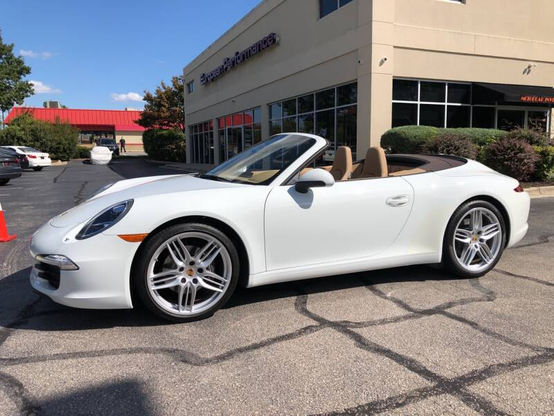 2013 Porsche 911 for sale at European Performance in Raleigh NC