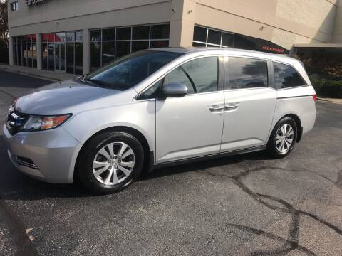 2015 Honda Odyssey for sale at European Performance in Raleigh NC