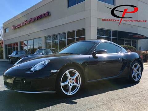 2006 Porsche Cayman for sale at European Performance in Raleigh NC