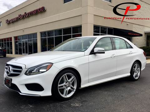 2014 Mercedes-Benz E-Class for sale at European Performance in Raleigh NC