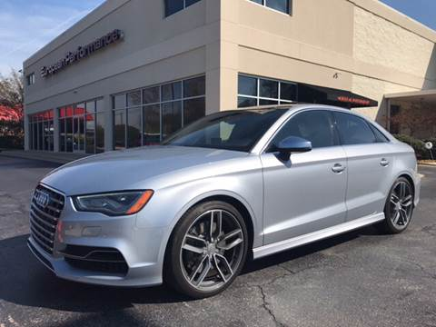2016 Audi S3 for sale at European Performance in Raleigh NC