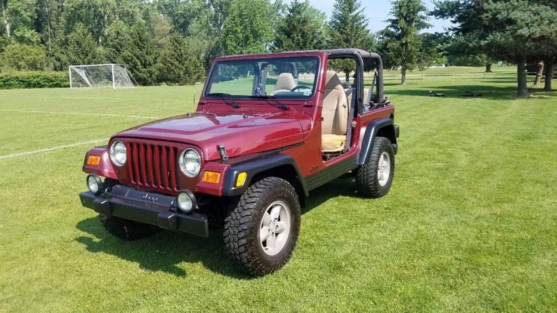 2001 Jeep Wrangler Sport 4WD 2dr SUV - Buffalo NY