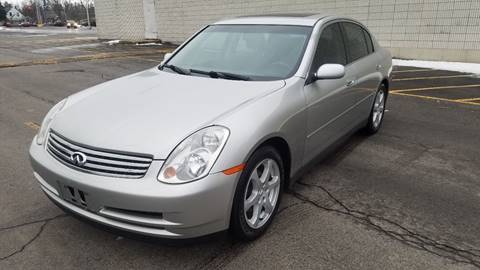 2003 Infiniti G35 for sale at Valu Auto Center in West Seneca NY