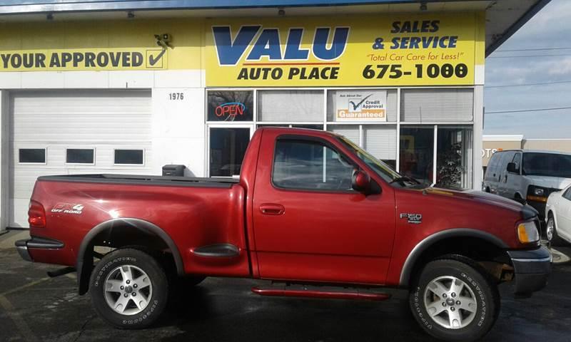 2002 Ford F-150 2dr Standard Cab XL 4WD Styleside SB - Buffalo NY