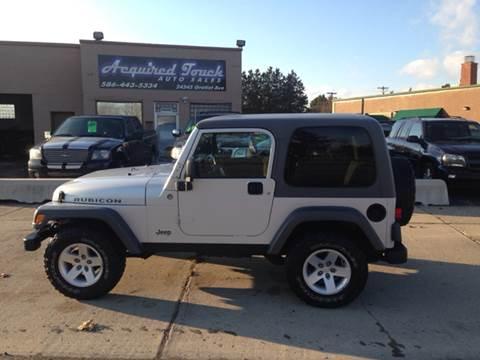 2005 Jeep Wrangler for sale in Eastpointe, MI