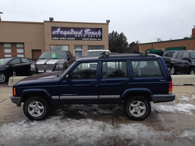 2001 Jeep Cherokee Sport 4WD 4dr SUV   Eastpointe MI