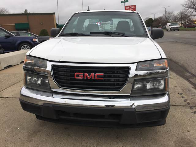 2009 GMC Canyon 4x2 SLE-1 Regular Cab 2dr - Eastpointe MI