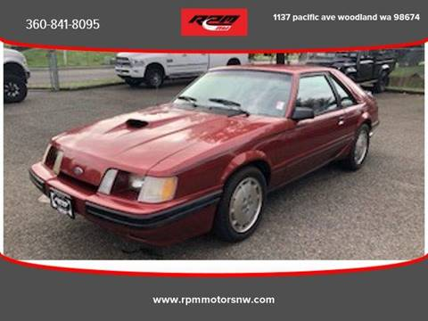1984 Ford Mustang for sale in Ridgefield, WA