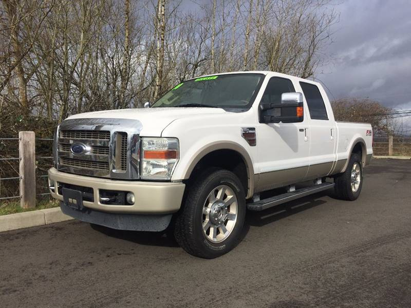 2010 ford f 250 super duty 4x4 king ranch 4dr crew cab 6 8 ft sb pickup in ridgefield wa rpm. Black Bedroom Furniture Sets. Home Design Ideas