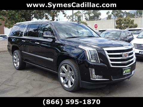 2017 Cadillac Escalade ESV for sale in Pasadena, CA