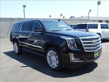 2016 Cadillac Escalade ESV for sale in Pasadena, CA