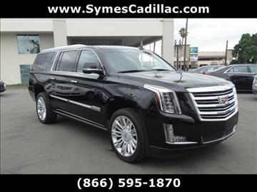 2016 Cadillac Escalade ESV for sale in Pasadena, CA