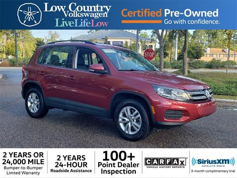 2015 Volkswagen Tiguan for sale in Mount Pleasant, SC
