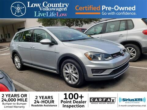 Volkswagen Mt Pleasant >> 2017 Volkswagen Golf Alltrack For Sale In Mount Pleasant Sc