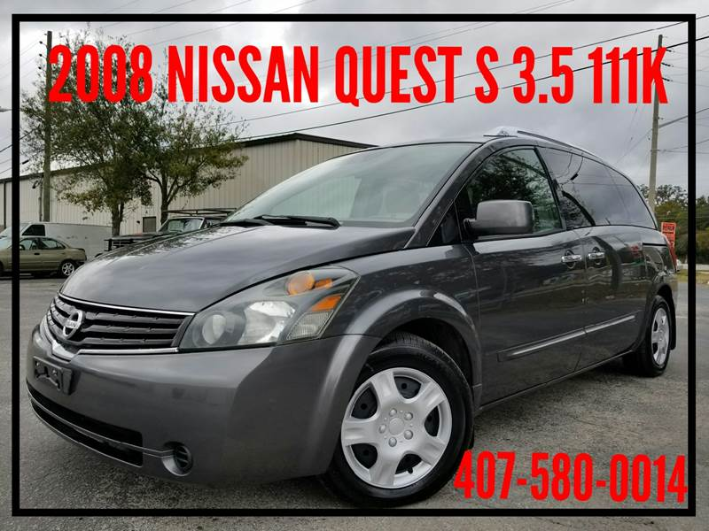 Nissan Quest 2008 3.5 S 4dr Mini Van