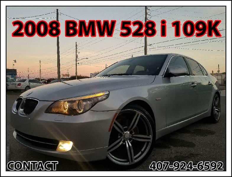 BMW 5 Series 2008 528i 4dr Sedan Luxury