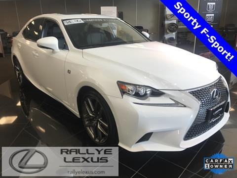 2014 Lexus IS 350 for sale in Glen Cove, NY