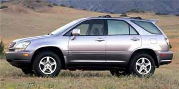 2001 Lexus RX 300 for sale at RALLYE LEXUS in Glen Cove NY