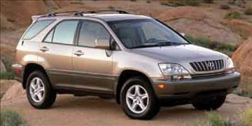2002 Lexus RX 300 for sale at RALLYE LEXUS in Glen Cove NY