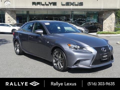 2016 Lexus IS 300 for sale in Glen Cove, NY