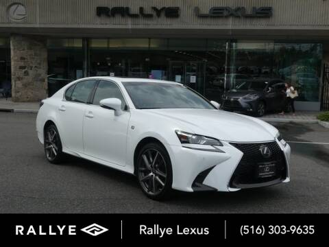 2018 Lexus GS 350 for sale at RALLYE LEXUS in Glen Cove NY