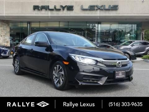 2017 Honda Civic for sale at RALLYE LEXUS in Glen Cove NY
