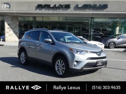 2018 Toyota RAV4 for sale at RALLYE LEXUS in Glen Cove NY