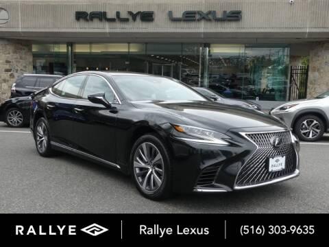2018 Lexus LS 500 for sale at RALLYE LEXUS in Glen Cove NY