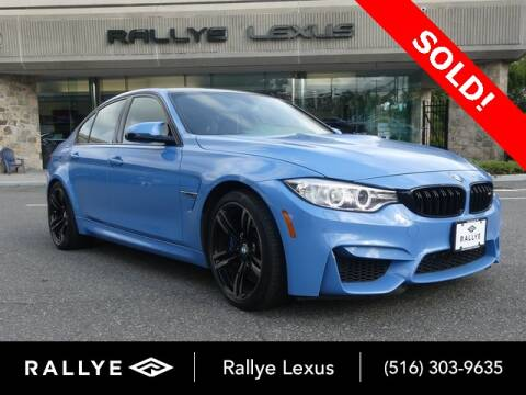 2016 BMW M3 for sale at RALLYE LEXUS in Glen Cove NY