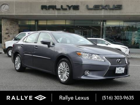 2014 Lexus ES 350 for sale at RALLYE LEXUS in Glen Cove NY