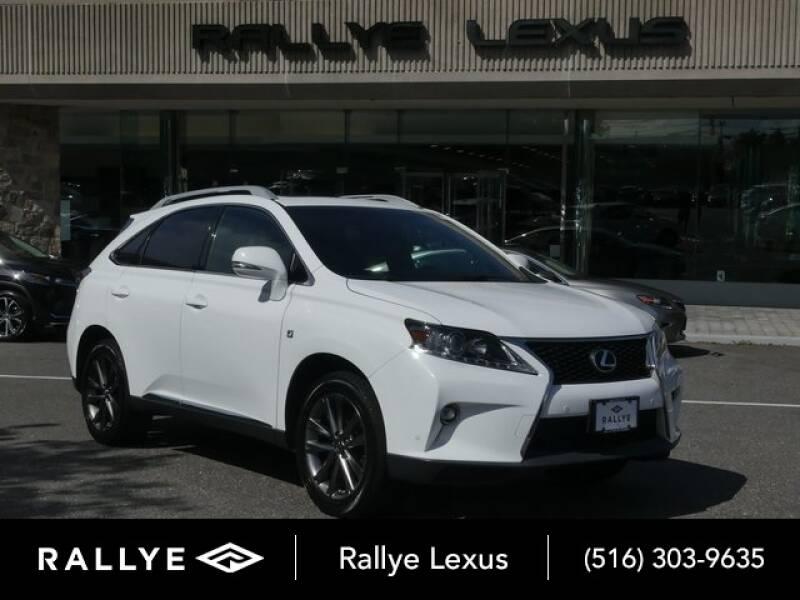 2015 Lexus RX 350 for sale at RALLYE LEXUS in Glen Cove NY