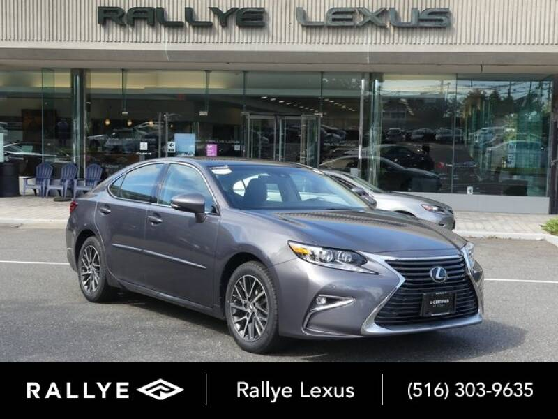 2017 Lexus ES 350 for sale at RALLYE LEXUS in Glen Cove NY