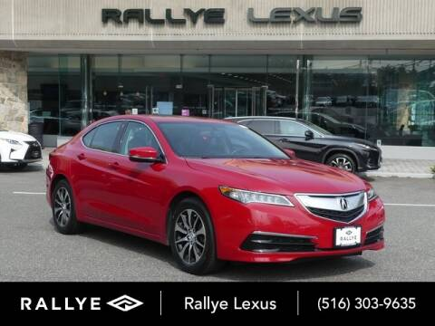 2017 Acura TLX for sale at RALLYE LEXUS in Glen Cove NY
