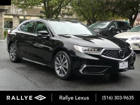 2018 Acura TLX for sale at RALLYE LEXUS in Glen Cove NY