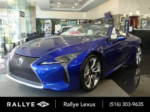 2021 Lexus LC 500 Convertible for sale at RALLYE LEXUS in Glen Cove NY