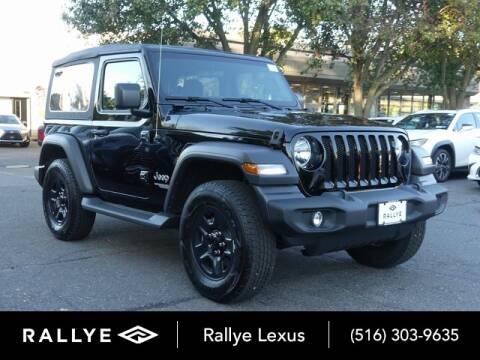 2020 Jeep Wrangler for sale at RALLYE LEXUS in Glen Cove NY