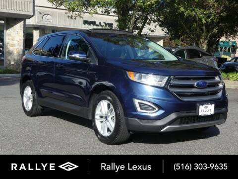 2017 Ford Edge for sale at RALLYE LEXUS in Glen Cove NY