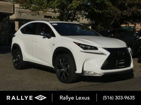 2017 Lexus NX 200t for sale at RALLYE LEXUS in Glen Cove NY