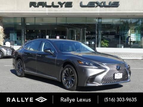 2019 Lexus LS 500 for sale at RALLYE LEXUS in Glen Cove NY