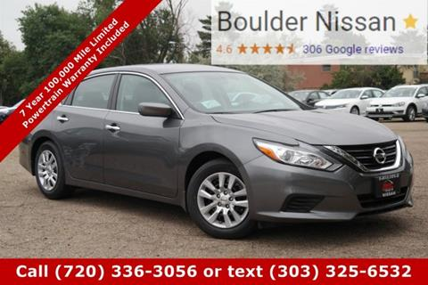 2017 Nissan Altima for sale in Boulder, CO