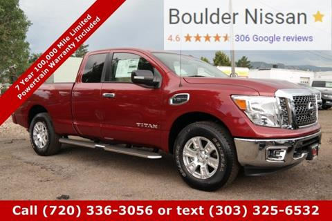 2017 Nissan Titan for sale in Boulder, CO