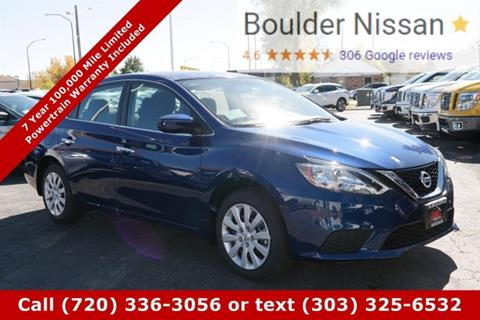 2017 Nissan Sentra for sale in Boulder, CO