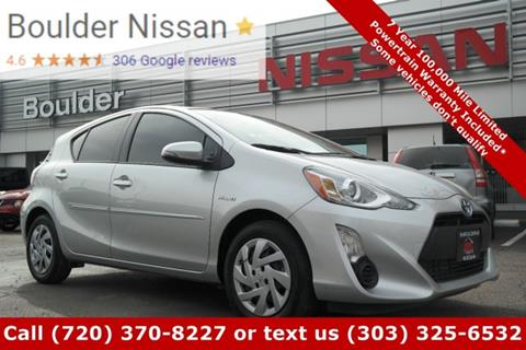 2015 Toyota Prius c for sale in Boulder, CO